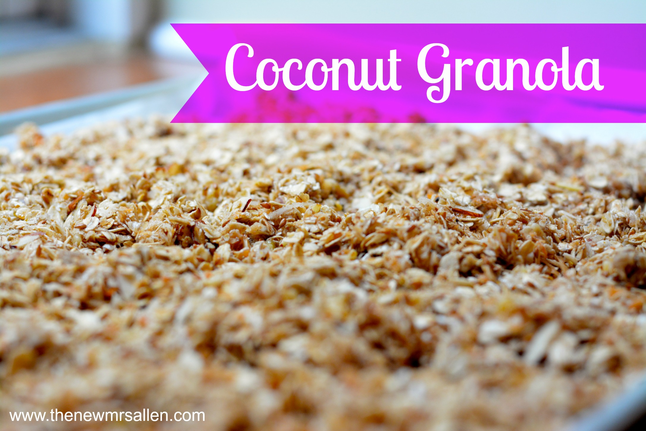 Coconut Granola Recipe — Dishmaps