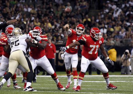 Photo (Jonathan Bachman, AP) http://m.deseretnews.com/article/765635909/49ers-defense-eager-to-face-Chiefs-QB-Alex-Smith.html