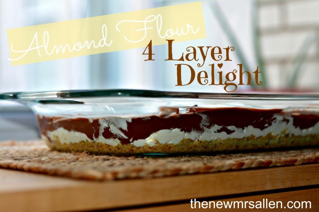 Almond Flour 4 layer delight