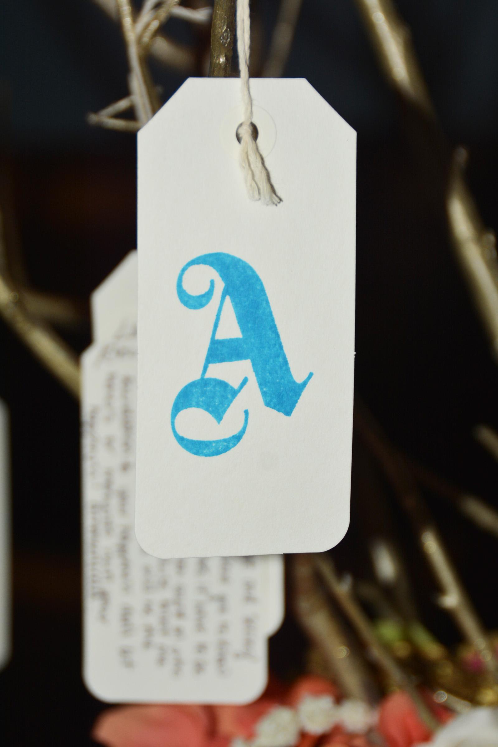 A tags