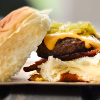 Hatch Green Chile Sliders