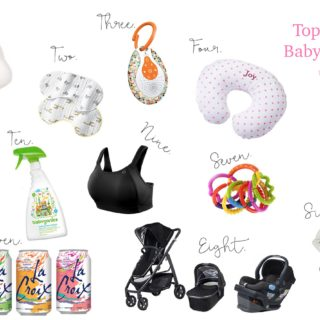 Top 12 Favorite Baby Products so far