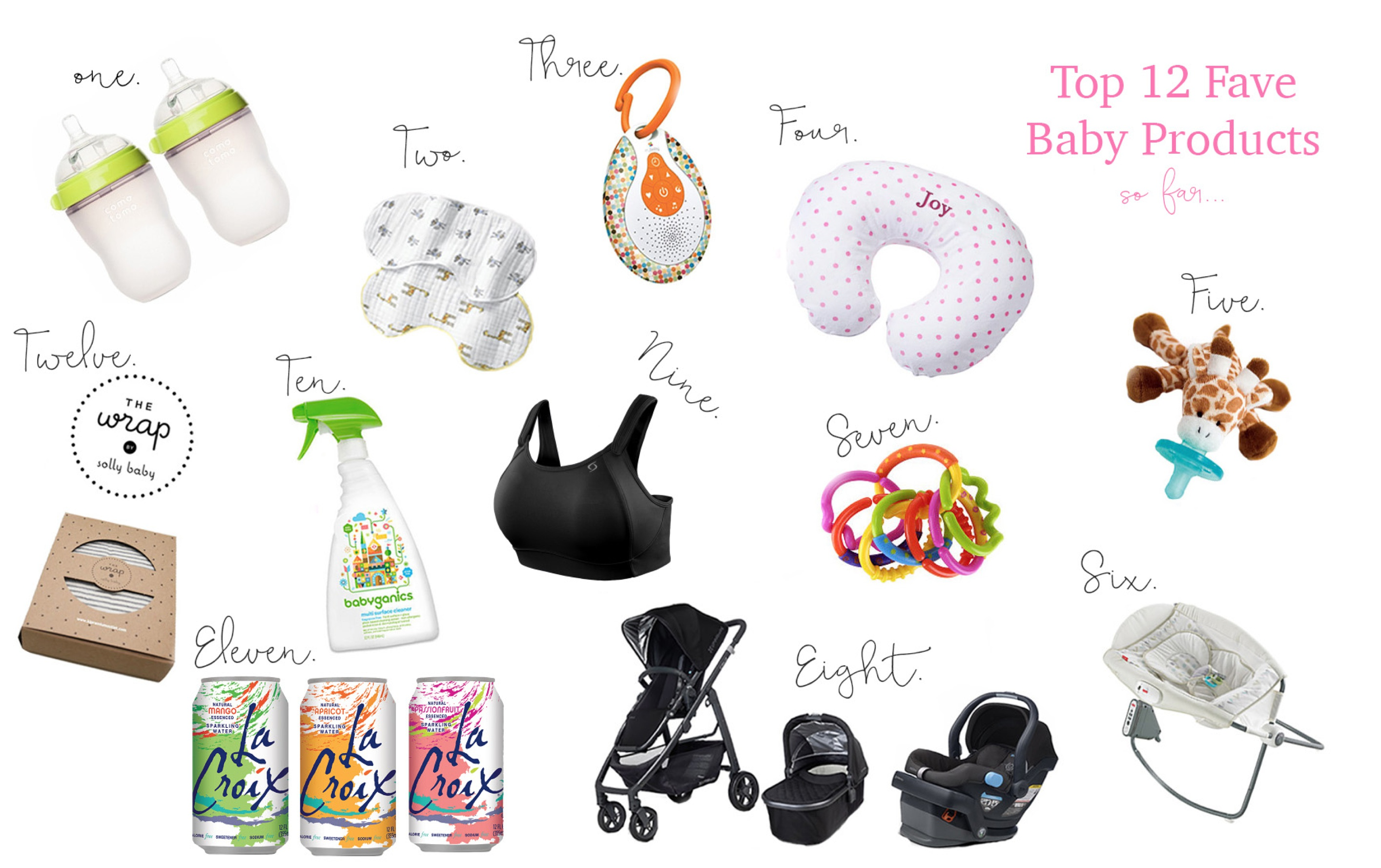 Top 12 Favorite Baby Products so far (@ 4 Mo)-- www.thenewmrsallen.com