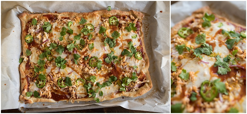 The BEST semi-homemade BBQ Chicken Pizza You have EVER had-- TheNewMrsAllen.com