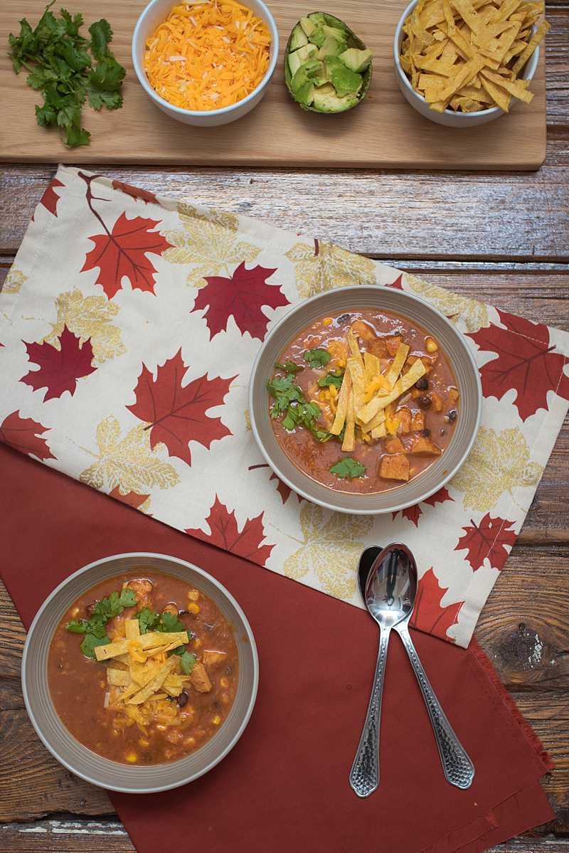 Failproof Chicken Tortilla Soup. Warm, smoky, and spicy-- www.thenewmrsallen.com