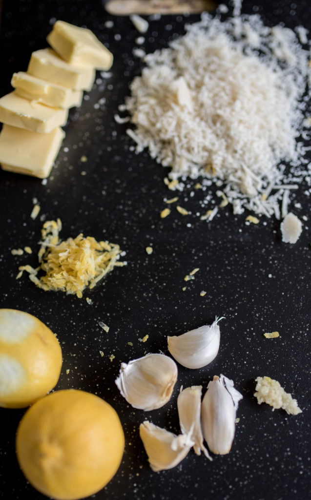 ingredients for Crispy Chicken with Lemon Cream Sauce-- firstandfull.com