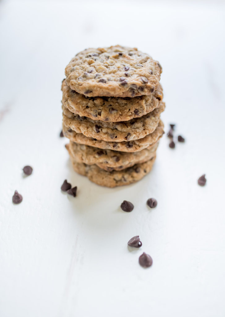 Oatmeal Double Chocolate Chip Cookies with Walnuts - First and Full