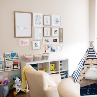 A Modern and Functional Playroom
