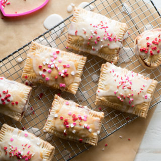 Homemade Pop-Tarts: Cherry Berry
