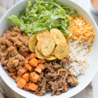 Chipotle- Inspired Sweet Potato Power Bowls