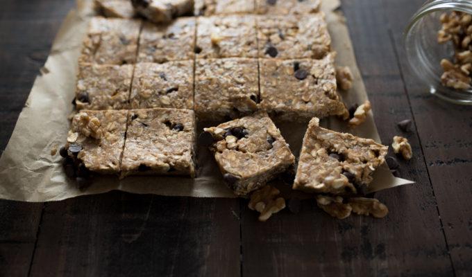 No- Bake Toasted Coconut Granola Bars