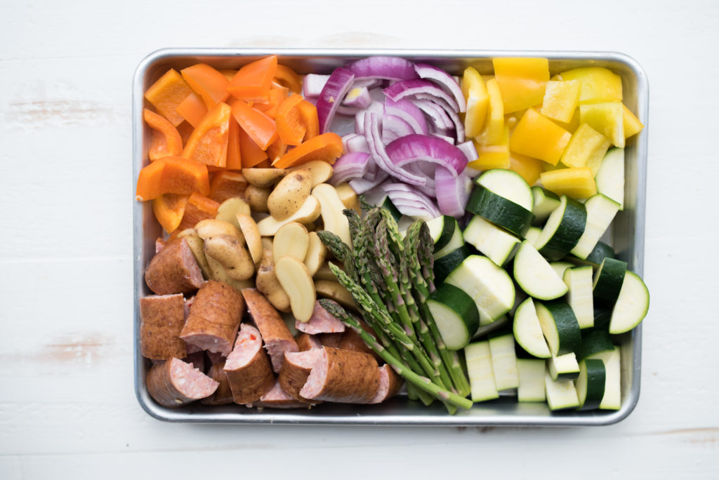 All you need for a delicious foil packet dinner is some foil, a protein like chicken, steak, or sausage and some veggies. Paleo + Whole30 Friendly!   FirstandFull.com