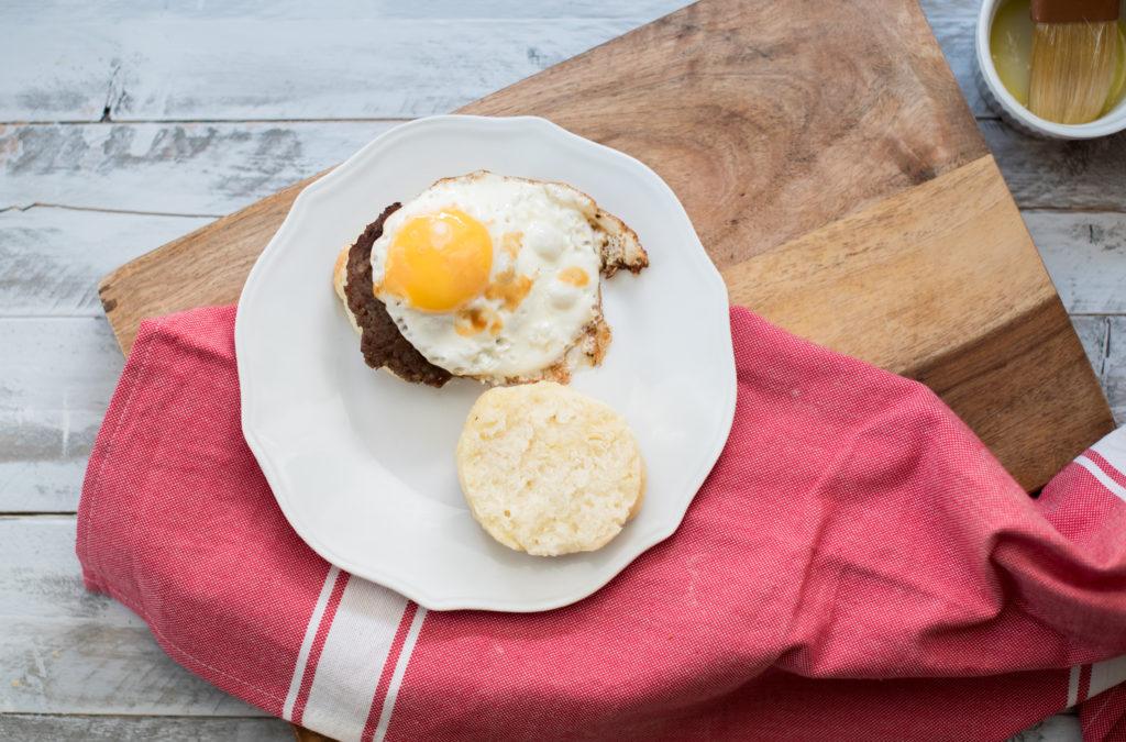 Honey Buttermilk Biscuits from Scratch | Firstandfull.com