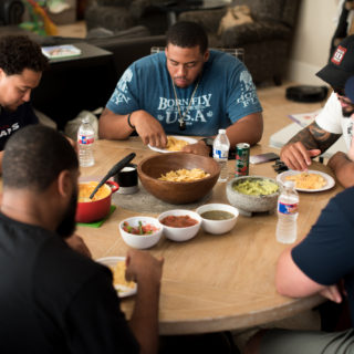 How to Host a Dinner Party… for an Offensive Line
