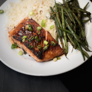 Simple Honey Sriracha Salmon