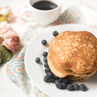 Healthy Whole Wheat Pancakes: Blender Recipe