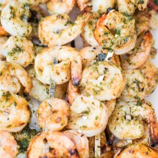 Honey Cajun Grilled Shrimp