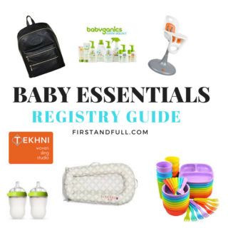 Registry Guide: Baby Essentials