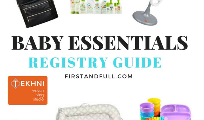 Registry Guide: Baby Essentials