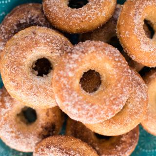 Baked Churro Doughnuts