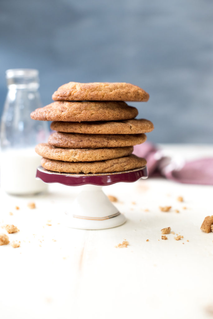 Delicious chewy snickerdoodle cookies rolled in cinnamon sugar and baked to perfection. The only snickerdoodle recipe you will EVER need.