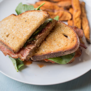 Bruschetta BLT Sandwich