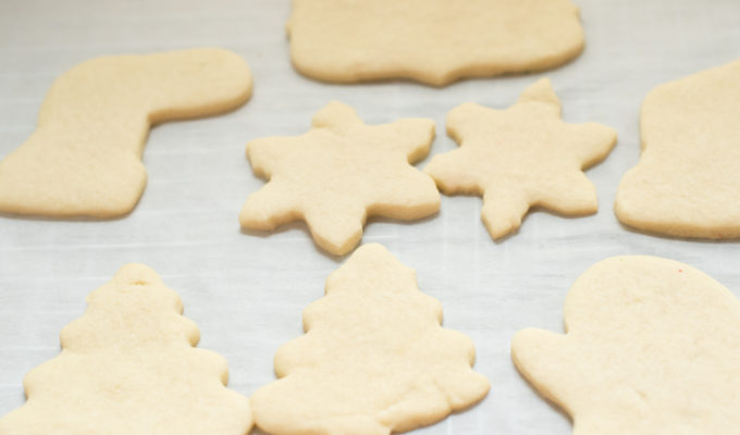 Fail Proof Sugar Cookies for Decorating