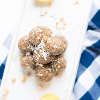 Lemon Cookie Bliss Balls