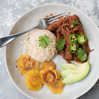 Whole30 Slow Cooker Ropa Vieja