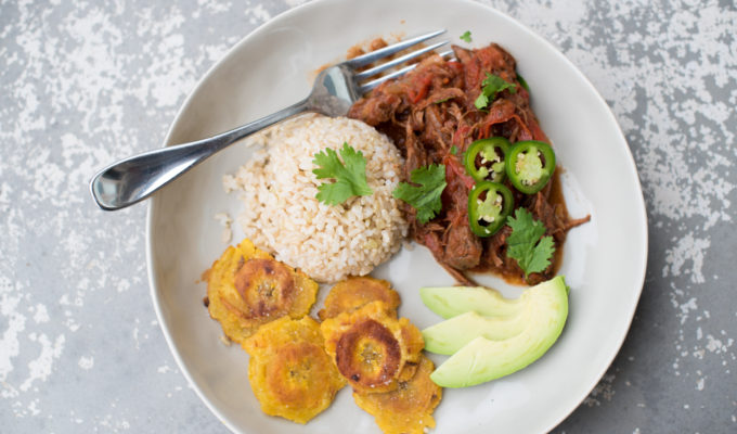 Slow Cooker Ropa Vieja (Whole30)