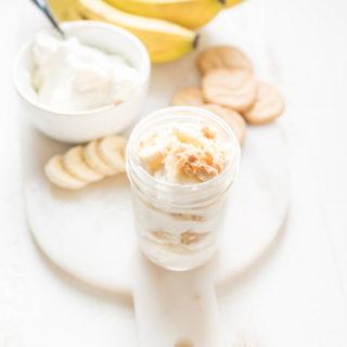 Skinny Banana Pudding