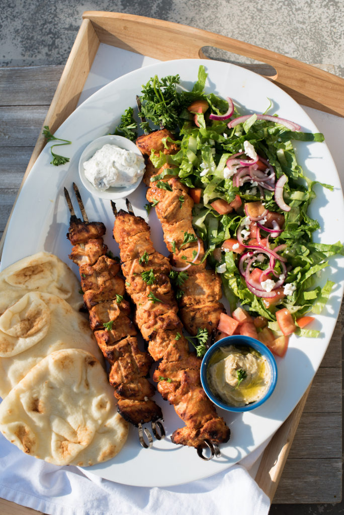 Turkish Chicken Kebabs: The most flavorful way to elevate you summer bbq game. Chicken marinated in creamy greek yogurt combined with tangy tomato paste and plenty of spices. Serve them with pita bread, hummus, and green salad to keep things simple.