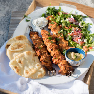 Turkish Chicken Kebabs (Whole30 Recipe included)