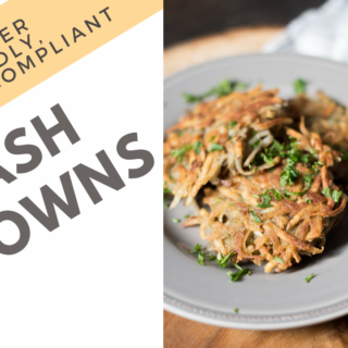 Hash Brown Patties [Freezer- Friendly, Whole30]