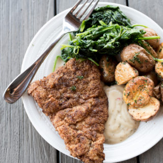 Crispy Pork Cutlets (Whole30)
