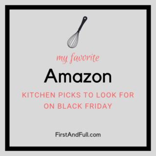 8 Recommendations for your Kitchen from Amazon on Black Friday