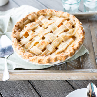 Homemade Peach Pie + A Virtual Potluck